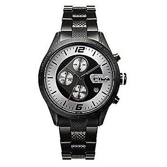 Fila men's watch chronograph stainless steel FA38-001-003