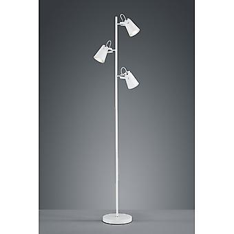 الثلاثي الإضاءة الحديثة إدوارد وايت المعدن مات الطابق مصباح