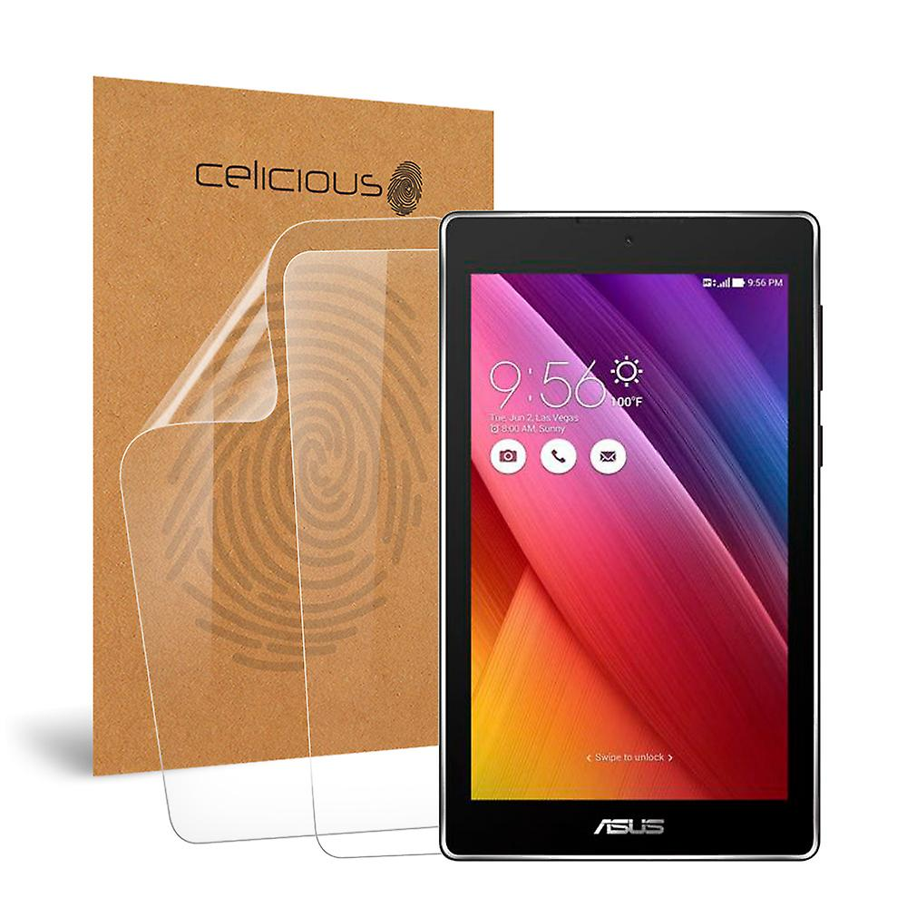 Celicious Vivid Invisible Glossy HD Screen Protector Film Compatible with ASUS ZenPad C 7 (Z170MG) [Pack of 2]