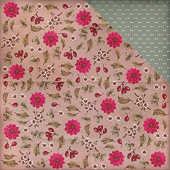 Scrapberry's Birds Of Paradise Double-Sided Cardstock 12X12-Berries