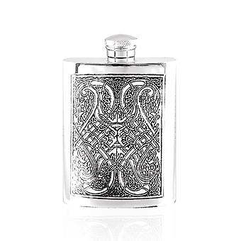 Nó celta do Pewter Hip Flask - 6oz
