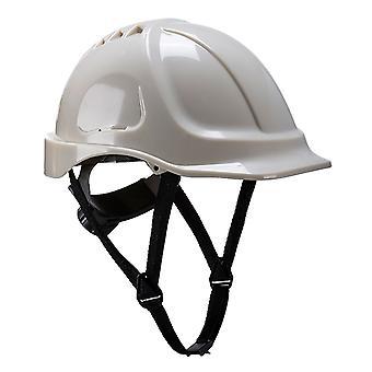 Portwest - casco de seguridad resistencia Glowtex al brillan en la oscuridad