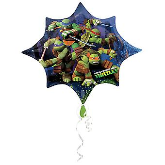 Amscan Supershape Teenage Mutant Ninja Turtles Shaped Foil Party Balloon
