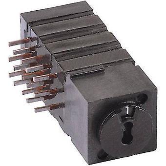 Mentor 1843.4231 Rotary switch 60 V DC/AC 0.5 A Switch postions 4 1 pc(s)