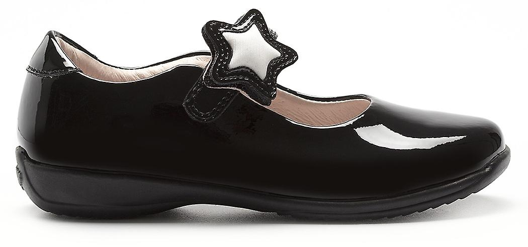 Lelli Kelly Colourissima Star LK8700 noir Patent School chaussures
