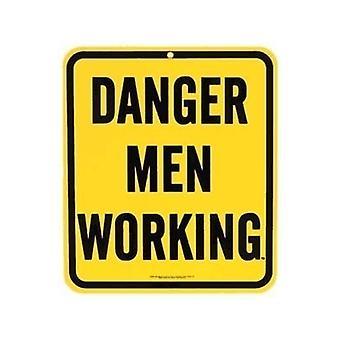 Опасность мужчин стали Холодильник магнит