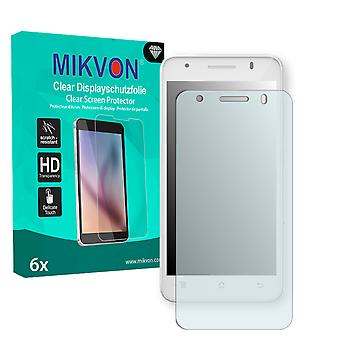 Archos 50c Helium 4G Screen Protector - Mikvon Clear (Retail Package with accessories)
