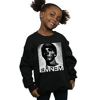 Eminem Girls Skull Face Sweatshirt