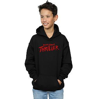 Michael Jackson jungen Thriller Logo Hoodie