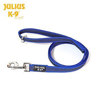 Julius K9 Super Grip blauw leiband 1,2 m