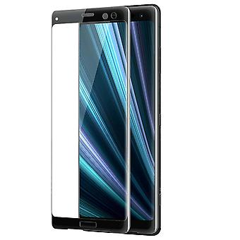 Screen protector for Sony Xperia XZ3, Tempered Glass with black edges