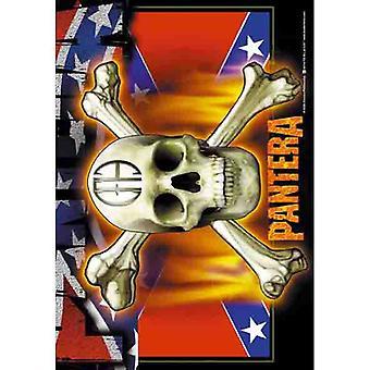 Pantera - Flag & Skull -Flag