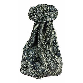 Muffler Scarf 1833 in Fine Pashmina Wool Heritage Range by Pashmina & Silk