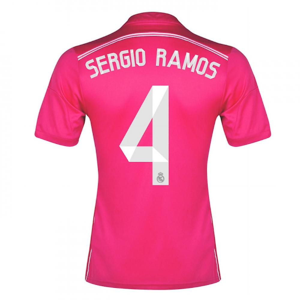 2014-15 Real Madrid Away Shirt (Sergio Ramos 4)