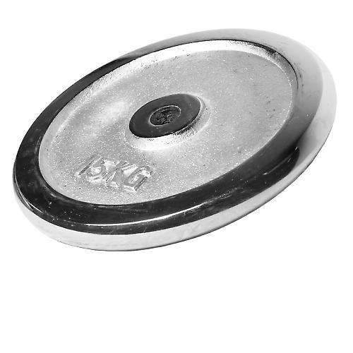 Poids disque chrom� 15 kg