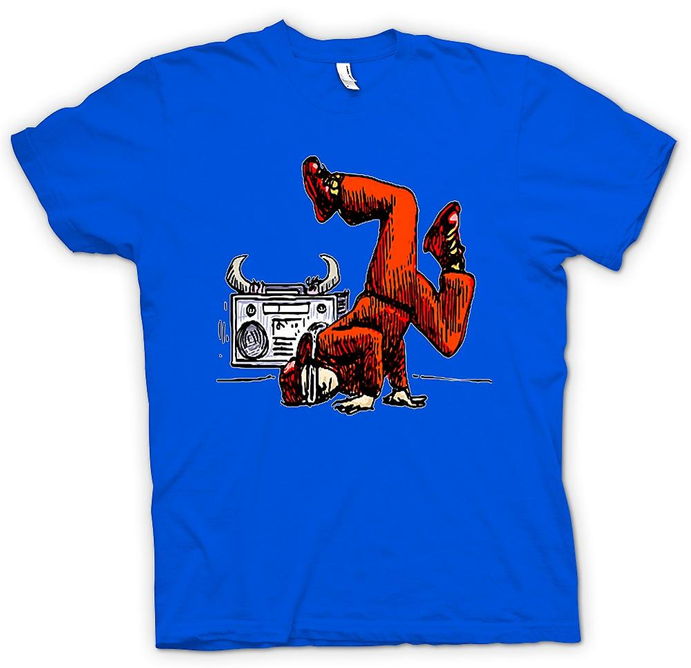 Hommes T-shirt - Breakdance - Hip Hop - Couleur