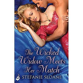The Wicked Widow Meets Her Match: Regency Rogues Book 6