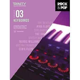 Trinity Rock & Pop 2018 toetsenborden Grade 3 - Trinity Rock & Pop 2018 (bladmuziek)
