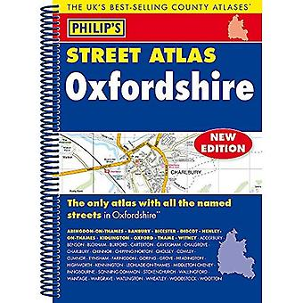 Philip's Street Atlas Oxfordshire 5ED Spiral (New Edition)