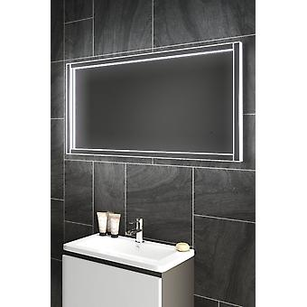 P badrum spegel med infraröd sensor och droppavskiljare pad k449