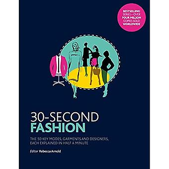 30-Second Fashion: The 50 key modes, garments, and designers, each explained in half a minute (30 Second)