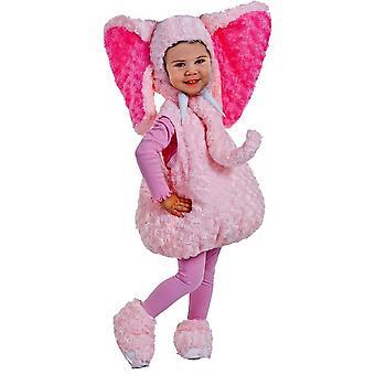 Pink Elephant Toddler Costume