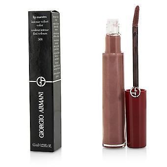 Giorgio Armani Lip Maestro Lip Gloss - # 508 (pearly Nude) - 6.5ml/0.22oz
