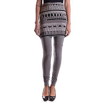 Dolce E Gabbana Grijze katoenen legging