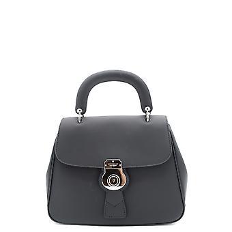 Brunello Cucinelli aus schwarzem Lederhandtasche