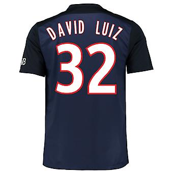 2015-16 PSG Home Shirt (David Luiz 32)