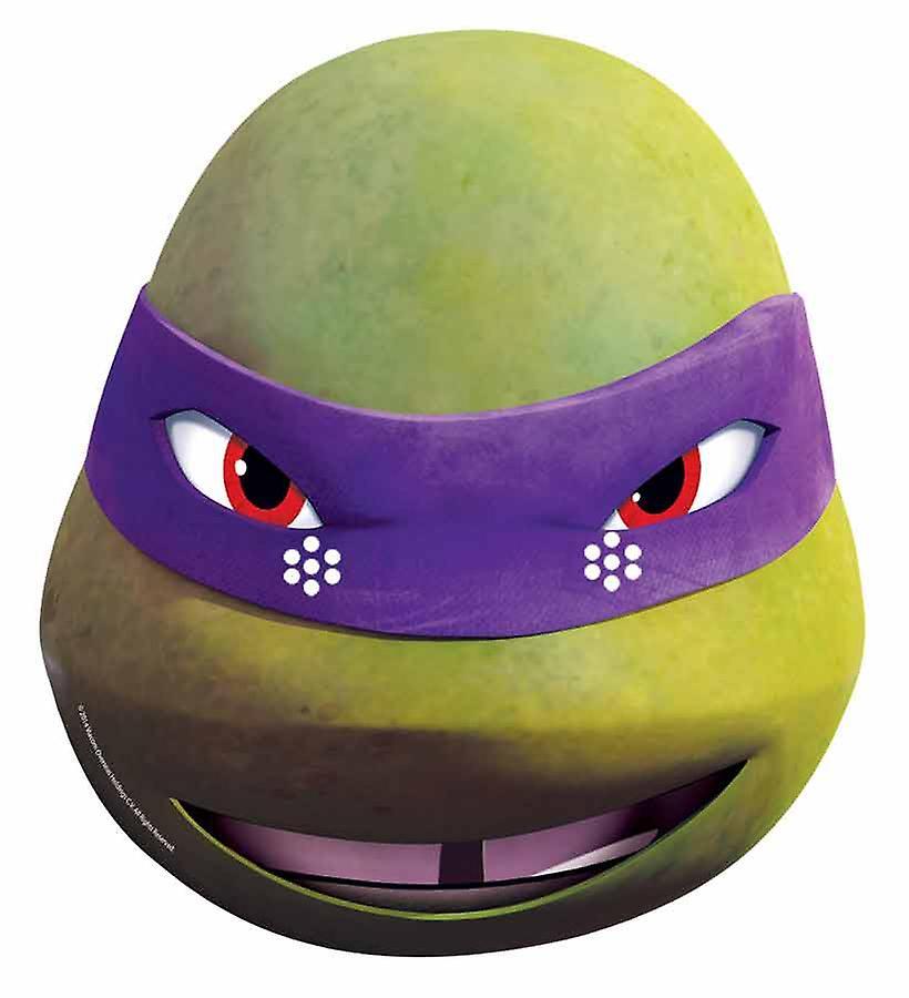 Donatello Teenage Mutant Ninja Turtles Single Card Party Face Mask 2015