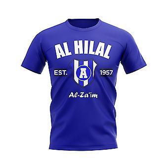 Al Hilal établi football T-Shirt (Royal)