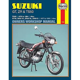 Suzuki GT - ZR and TS50 1979-89 Owner's Workshop Manual (Revised edit