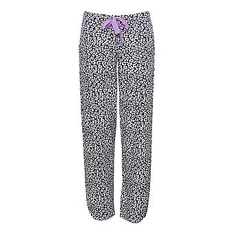 Cyberjammies 4186 kvinnors Laura Grey mix djur Print bomull pyjamas pant