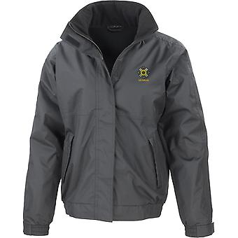 Scots Guards Veteran - Licensed British Army Embroidered Waterproof Jacket With Fleece Inner