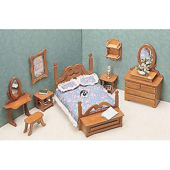Dollhouse Furniture Kit Bedroom 72G 01