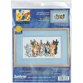 Suzy's Zoo Tails Of Duckport Counted Cross Stitch Kit 14