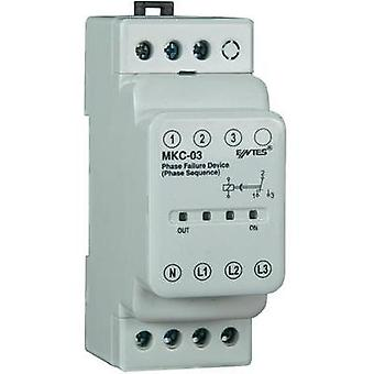 MKC phase failure relay ENTES MKC-03 Phase failure relay