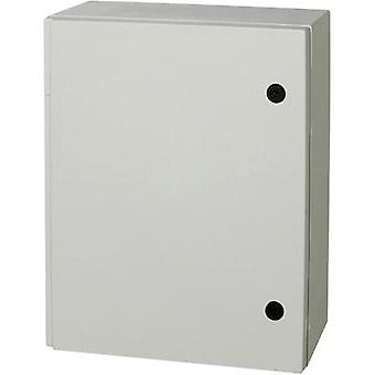 Wall-mount enclosure 515 x 415 x 230 Polyester Grey (RAL 7035)