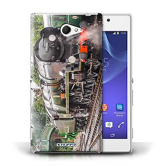 STUFF4 Case/Cover for Sony Xperia M2/Bodmin/Steam Locomotive