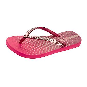 Ipanema Trends VII Womens Flip Flops / Sandals - Pink Red