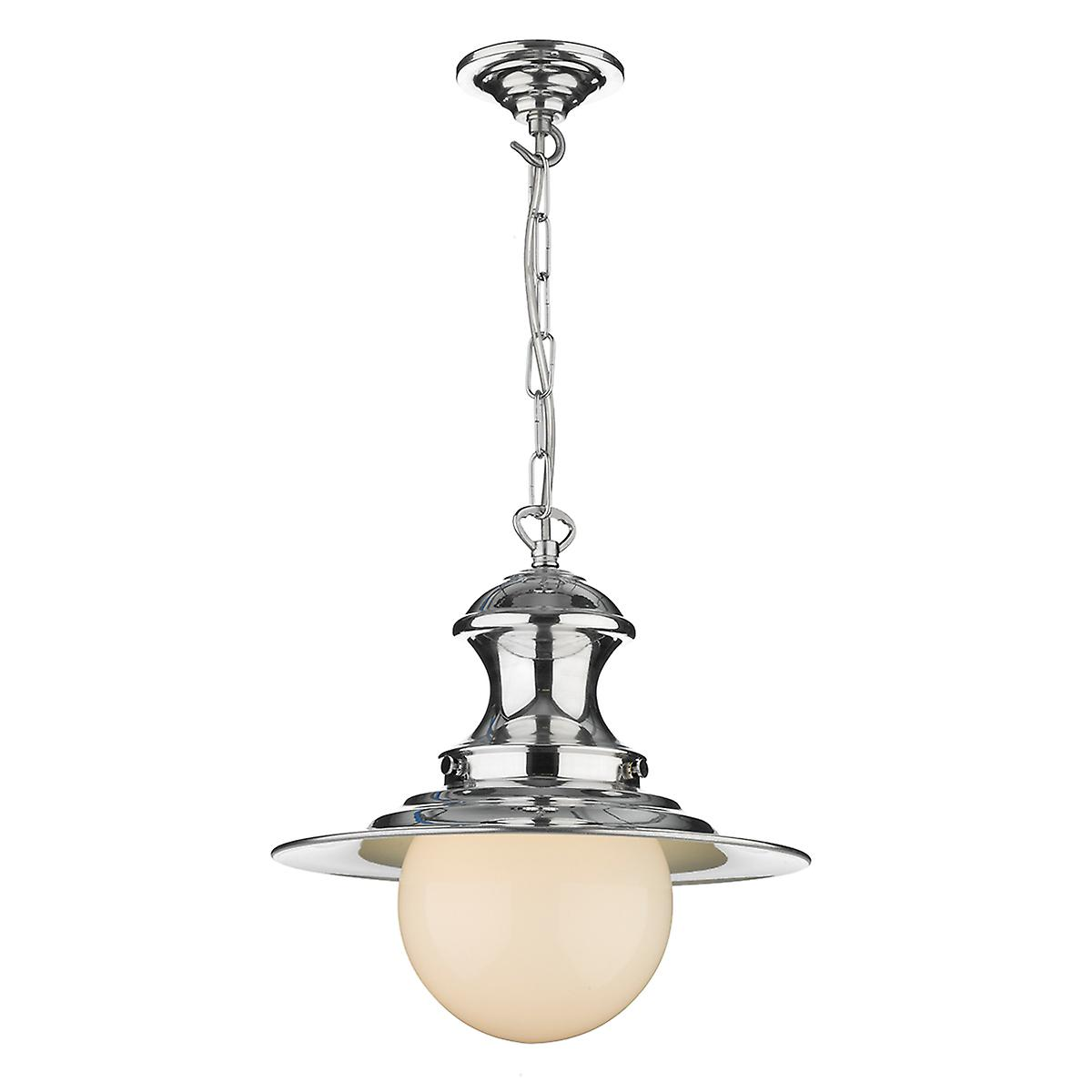 David Hunt EP0150 Station Small Baby Pendant Lamp In Polished Chrome