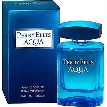 Perry Ellis Aqua by Perry Ellis for Men 3.4 oz Eau De Toilette Spray