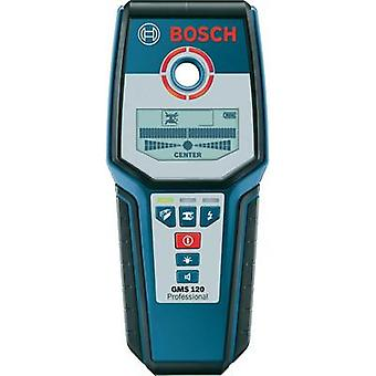 Detector Bosch GMS 120 PROFESSIONAL Locating depth (max.) 120 mm Suitable for Wood 0601081000