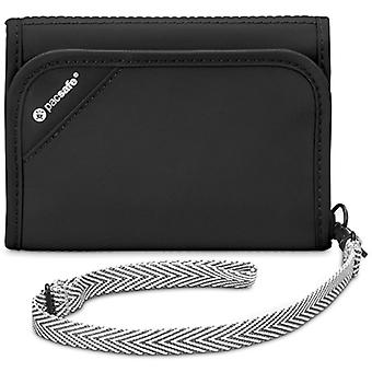 Pacsafe RFIDsafe V125 Anti-theft RFID Blocking Tri-Fold Wallet (Black)