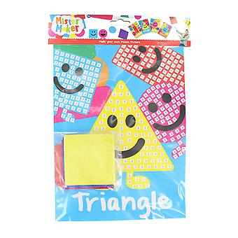 Children's Arts & Crafts Mister Maker Make Your Own Mosaic Picture - Triangle