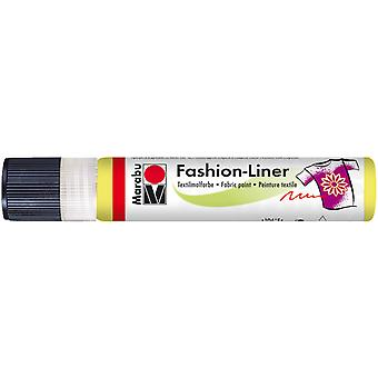 Marabu Fashion Liner 25ml-Lemon 18049009-020