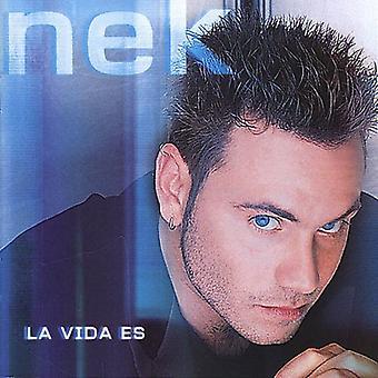 Nek - La Vida Es [CD] USA import
