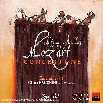 W.a. Mozart - Mozart: Concertone [CD] USA import