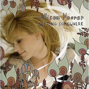 Allison Moorer - importación de Estados Unidos consiguiendo en alguna parte [CD]